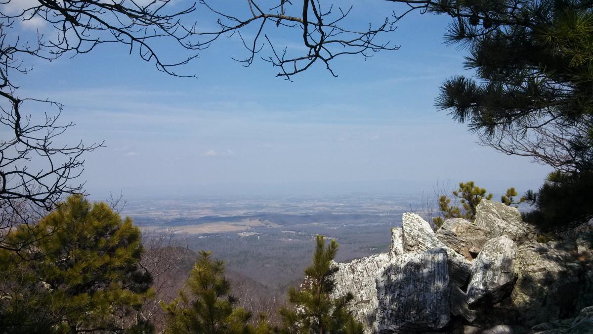 Shenandoah trail run/hike