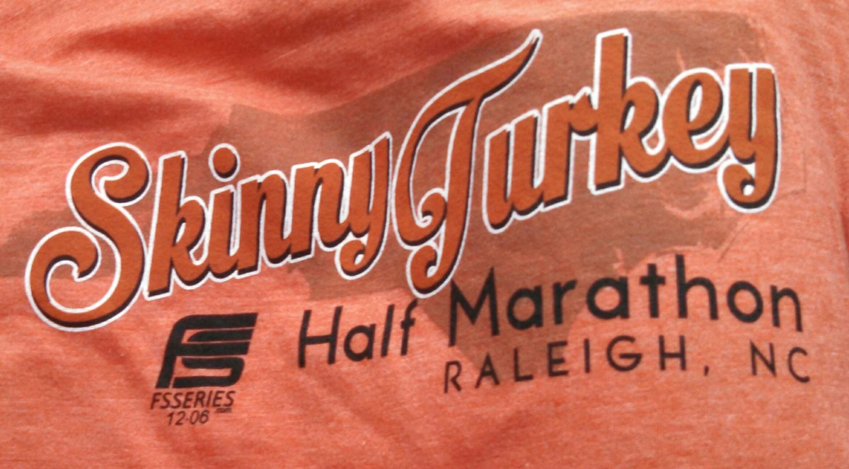 Skinny Turkey Half Marathon (November 27, 2014)