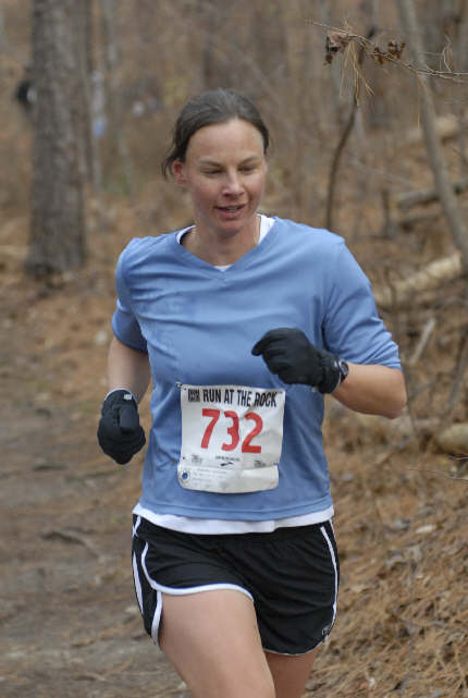 Run at The Rock trail race, 2008