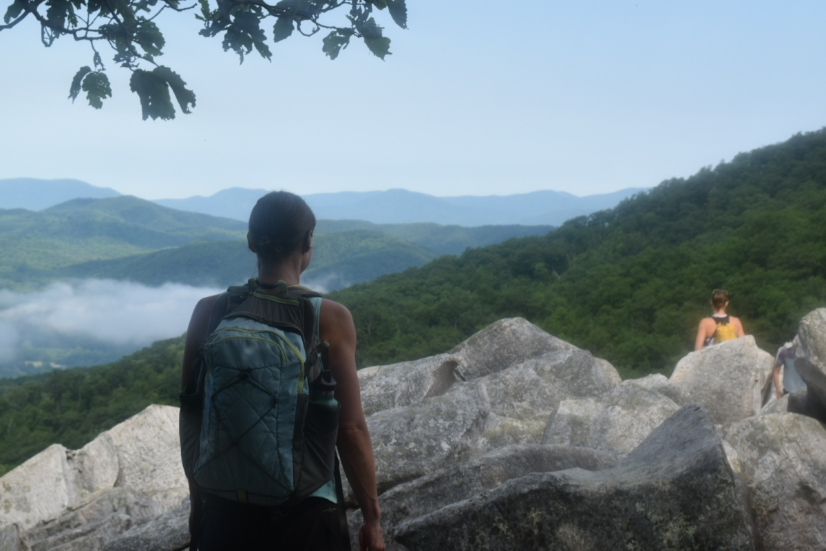 Devil's Marbleyard hike and camping trip