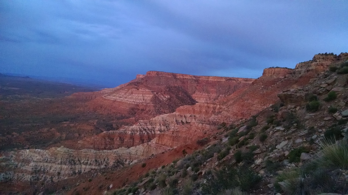 Zion 100K race report (April 7-April 8, 2017)